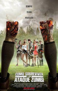 Como Sobreviver a Um Ataque Zumbi (2015) - BluRay 720p DualAudio - 1080p 5.1 CH Dublado - Torrent | Mega Filmes BluRay