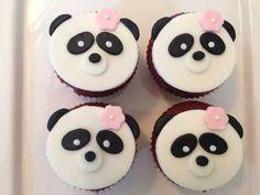 Cupcakes versieren panda 17 ideas for 2019 Panda Cupcakes, Kid Cupcakes, Animal Cupcakes, Easter Cupcakes, Fondant Cupcakes, Themed Cupcakes, Wedding Cupcakes, Cupcake Cakes, Panda Birthday Party