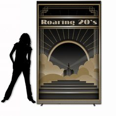 roaring 20s party theme | Roaring 20's Feature Backdrop | The Roaring 20's | 1920 Theme Party ...