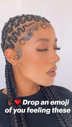 Cornrow Updo Hairstyles, Cornrow Braid Styles, Box Braids Hairstyles For Black Women, Hair Ponytail Styles, Braids Hairstyles Pictures, Protective Hairstyles For Natural Hair, Natural Hair Braids, Hot Hair Styles, Braids For Black Hair