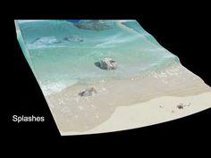 Beach Waves -Blender - YouTube