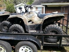 2007 Yamaha Grizzly 4X4 EFI EPS  matching pair in flbassn's Garage Sale in Plant City , FL for $7800. Approx 1600 miles each Some cosmetic damage 3900 each or 7000 for both