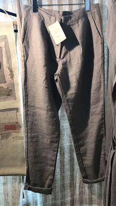 Linen Jackets, Urban, Pure Products, Grey, Pants, Fashion, Moda, Gray, Trousers