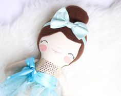 "Paislee - 17"" Cloth Dress Up Dance Doll"