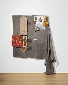 RobertRauschenbergDylaby(CombinePainting)1962GagosianGallery