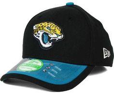 41c4045ea NFL Jacksonville Jaguars 2015 New Era Sideline 3930 Youth Child Black Hat