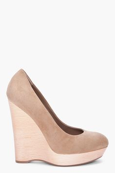 maryna wooden wedges ++ yves saint laurent