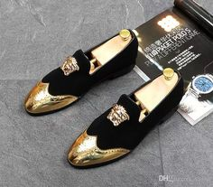 Men Top Designer Bullock Carve Patterns Gold Silver Casual Shoes Male Homecoming Dress Wedding Prom Sapato Social Party Shoes For Groom Casual Shoes Women Shoes From Vaion, $48.25| Dhgate.Com