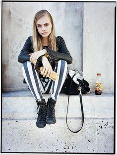 Cara Delevingne for Style Spring/Summer 2013