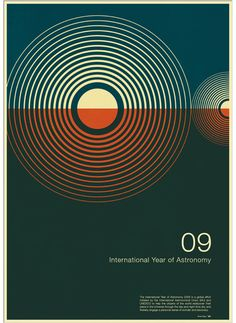 International year of astronomy poster