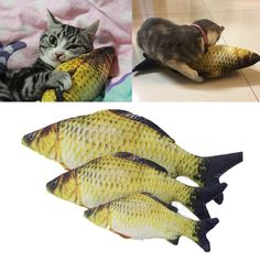 Cute Catmint Fish Toy