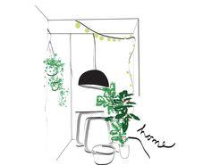 #illustration #home #MLC letiziamlc.tumbr.com