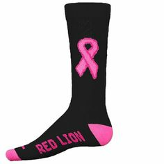 cc4458e95703 Pink Ribbon CURE CREW SOCKS on Wanelo Lacrosse Socks