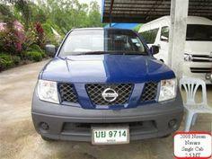 Japanese vehicles to the world: 2008 Nissan Navara XE Single cab pick up for Kenya...