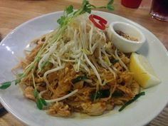 Pad Thai - A: 3 B: 3 Green Peppercorn, Ethnic Recipes, Food, Essen, Meals, Yemek, Eten