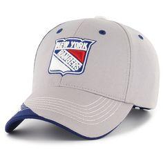 NHL New York Rangers Fan Favorite Mass Hubris Cap, Adult Unisex