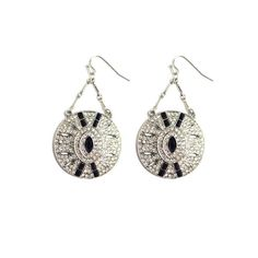 Deco Drop Earrings  http://www.lydellnyc.com/collections/deco-decadence/products/deco-drop-earrings