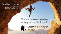 Meilleurs vœux pour 2017 de Parenthese Café !