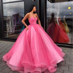 Tulle Ball Gown, Ball Gowns Prom, Ball Dresses, Evening Dresses, Satin Tulle, Cheap Prom Dresses, Quinceanera Dresses, Formal Dresses, Quinceanera Ideas