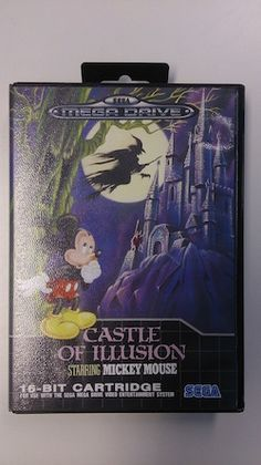 Castle of Illusions starring Mickey Mouse : Jeu Megadrive Complet - Version Pal Européene - Excellent Etat - Jeu en Français