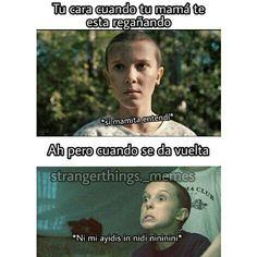 Funny Spanish Memes, Spanish Humor, Funny Memes, Stranger Things Funny, Stranger Things Netflix, Saints Memes, Look Star, Riverdale Memes, New Memes