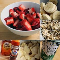 strawberry banana oatmeal smoothie