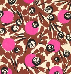Vintage and rare Parisian textiles from the Atelier Zina de Plagny, textile designers to the fashion elite in the late 40s and early 50s