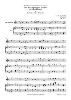 Alto Sax Easy Songs | ... Banner: Alto Sax sheet music by John Stafford Smith: Alto Sax