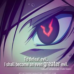 Lelouch - Code Geass LOVED when I realized what Lelouch was doing. I admire this character because of what he did in order to fulfill his wish for his sister.