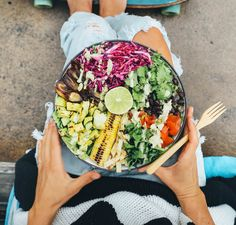 My Health Journey — Earthyandy Chia Recipe, Superfood Salad, Mason Jar Meals, Rainbow Food, Plant Based Eating, Raw Vegan, Clean Eating Recipes, My Favorite Food, Food Hacks