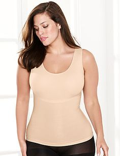 d01e3d1999 Thin-stincts slimming tank by SPANX gives medium tummy control