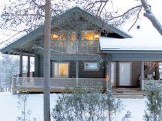 деревянные финские  дома IKI-house CH3-194