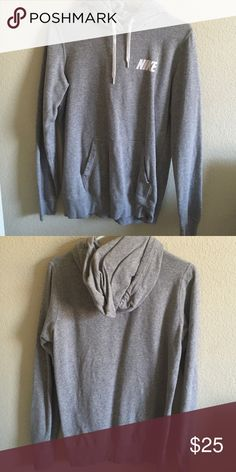 Nike hoodie make an offer❤️ Excellent condition! Nike Tops Sweatshirts & Hoodies