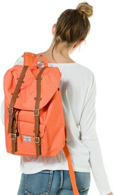Herschel pin dot backpack. @SWELL