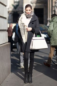 On the Street (Paris) / FW 13: Muriel Beal