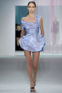 Christian Dior Spring 2013 RTW. I cannot get over this dress! It looks like it's made out of plasma. So awesome.