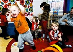 """At Sweden's Gender-Neutral Preschool, There's No Boys or Girls, Only """"Friends"""" 