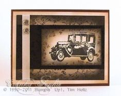 Smoky car by SophieLaFontaine - Cards and Paper Crafts at Splitcoaststampers