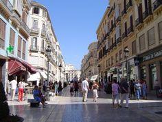 Calle Larios de Malaga, arteria principal de la ciudad