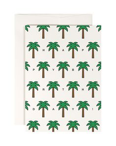 #0082 palm beach, Postkarte DIN A6, www.redfries.com