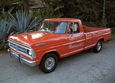 1972 Ford F100 Irv Seaver Motorcycle Delivery Truck Hauler For Sale Front