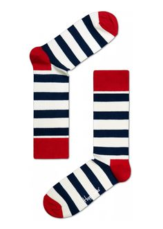 Socks by Happy Socks - Give her seriously stylish feet with these attention getting stripes, dots and patterns. Nothing like putting your best foot forward in the New Year. $12 Happy Socks