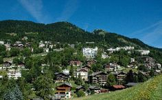 Leysin, Switzerland where I taught with the Summer Theatre International program at the Leysin American School.  I'd love to return to this idyllic alpine town in the winter.