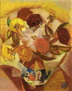 Flowers, 1919 - Gustave de Smet