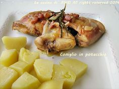 CONIGLIO IN POTACCHIO Ricetta secondo piatto di carne