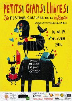 Taller Batiscafo en Festival Petits Grans Llibres. Sant Cugat. 14 a 19 de octubre