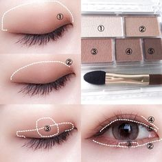 Ultimate Step-by-step Tutorial For Perfect Face Makeup Application - eye makeup tutorial; eye makeup for brown eyes; Ultimate Step-by-step Tutorial For Perfect Face Makeup Application Korean Makeup Look, Korean Makeup Tips, Asian Eye Makeup, Korean Makeup Tutorials, Eye Makeup Steps, Ulzzang Makeup Tutorial, Korean Makeup Tutorial Natural, Brown Eye Makeup Tutorial, Natural Makeup Tutorials