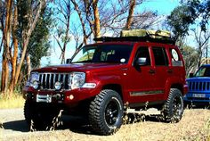 2012 Custom Off-Road Jeep Liberty: Maniac 4x4 Manufacturing in Cape Town SA