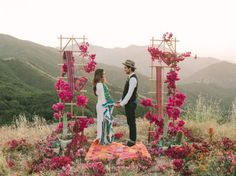 Bohemian/Hippie weddings began the outdoor wedding movement, from churches to free open fields, beaches, gardens, mountains etc. ~ E.A.