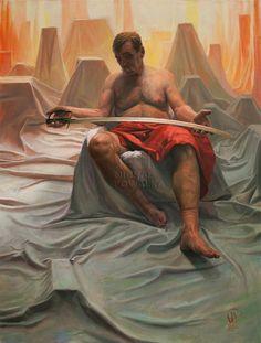 MY KINGDOM - 2015 Oil on canvas 100cm/75cm